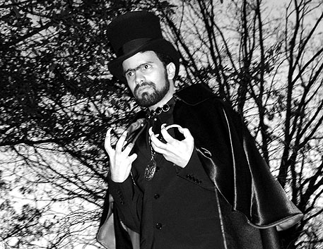 Raymond Castile in his 2004 Coffin Joe costume.